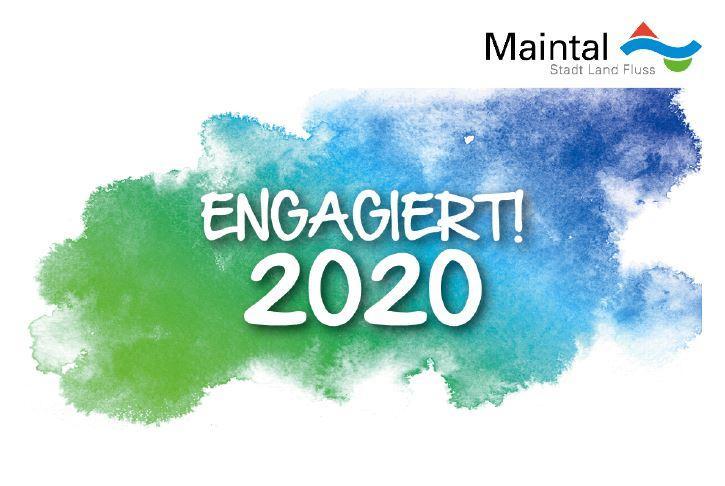 Logo der Veranstaltung Engagiert! 2020 - Maintal sagt danke für Sport