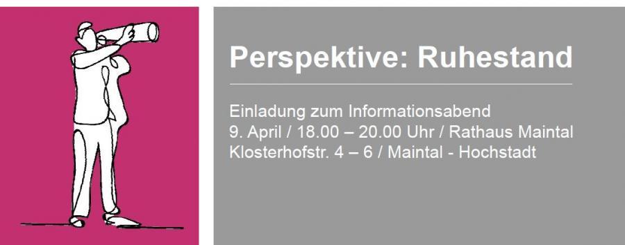 """Titelbild der Veranstaltung """"Aktiver Ruhestand"""" am 09.04.2019"""