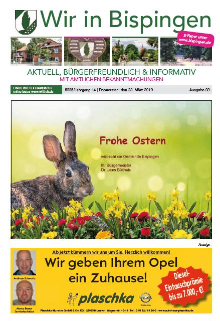 Titelblatt März