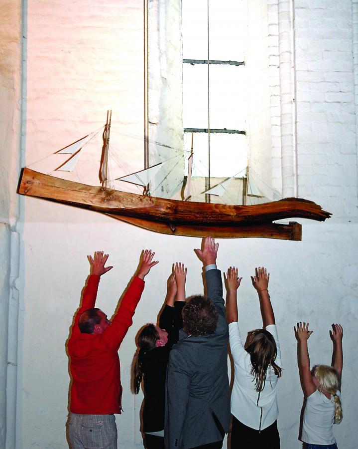 Schiff der Kirche