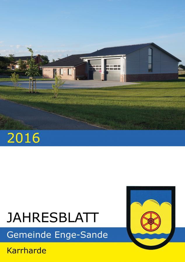 Jahresblatt 2016