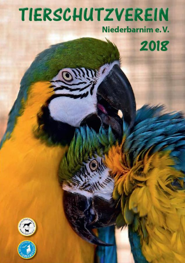 Tierheimzeitschrift 2018