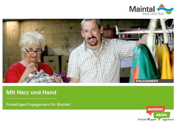 Link führt zur PDF-Datei Mit Herz und Hand - Freiwilliges Engagement für Maintal