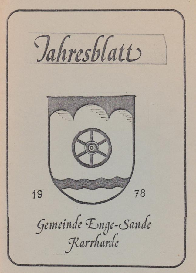 Titelblatt 1978