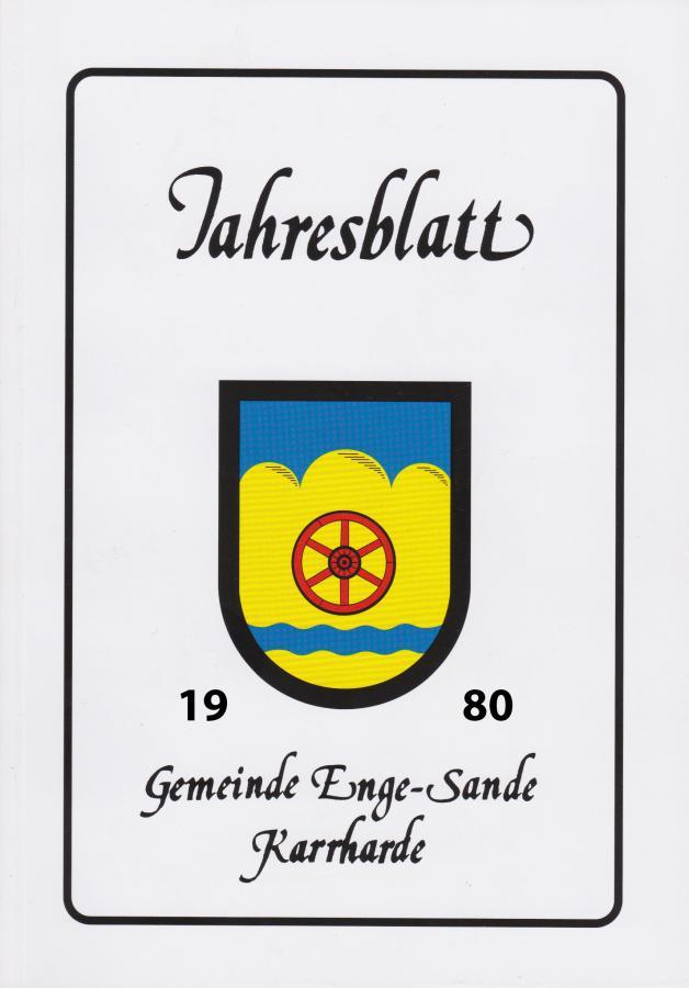 Jahresblatt 1980