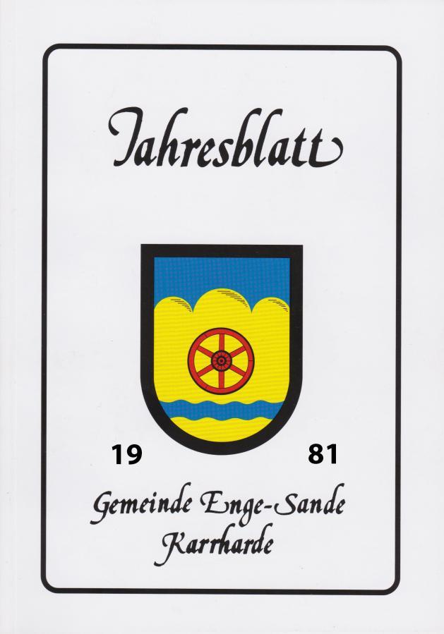 Titelblatt 1981