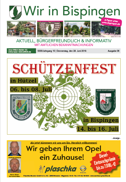 Titelblatt Juli