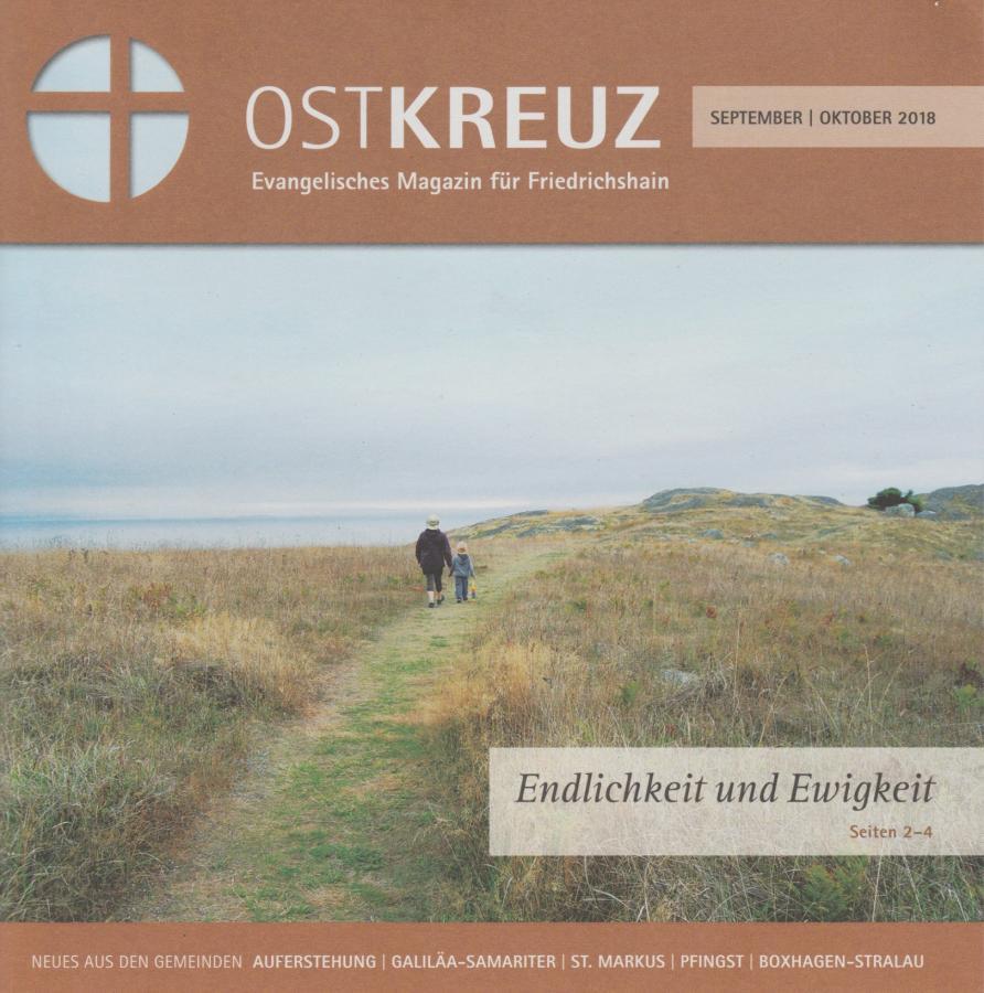 Titelseite OstKreuz Sept/Okt 2018