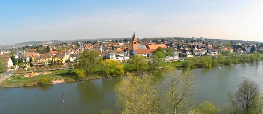 Stadt am Fluss: Maintals größter Stadtteil Dörnigheim bietet Naherholung direkt am Main (Foto: Matthias Merget)