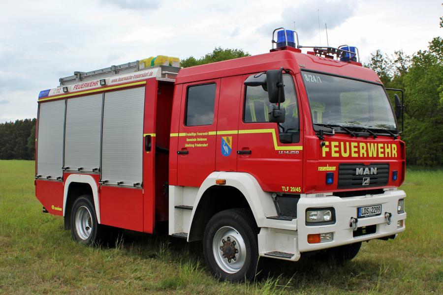 TLF 20/45 | Löschzug Friedersdorf | Florian Spreewald 8/24-1