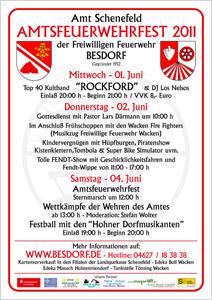 Amtsfeuerwehrfest 2011