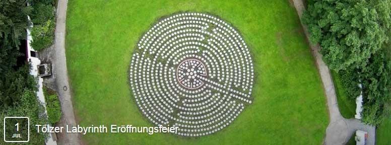 Tölzer Labyrinth eröffnungsfeier
