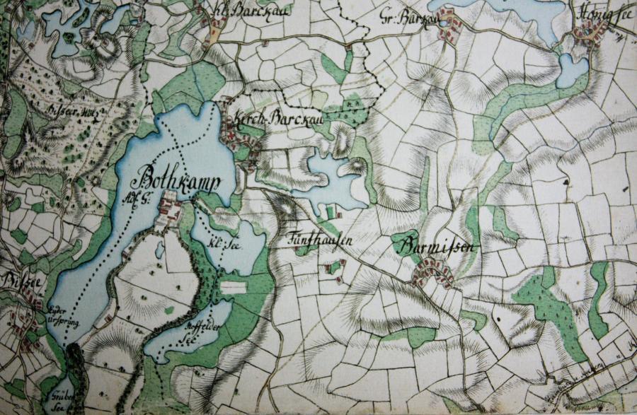 Topographie des Herzogtums Holstein 1789-1796