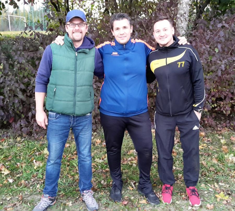 Christoph Klus (links), Stefan Pfeilschifter (Mitte) und Andreas Wirth (rechts)