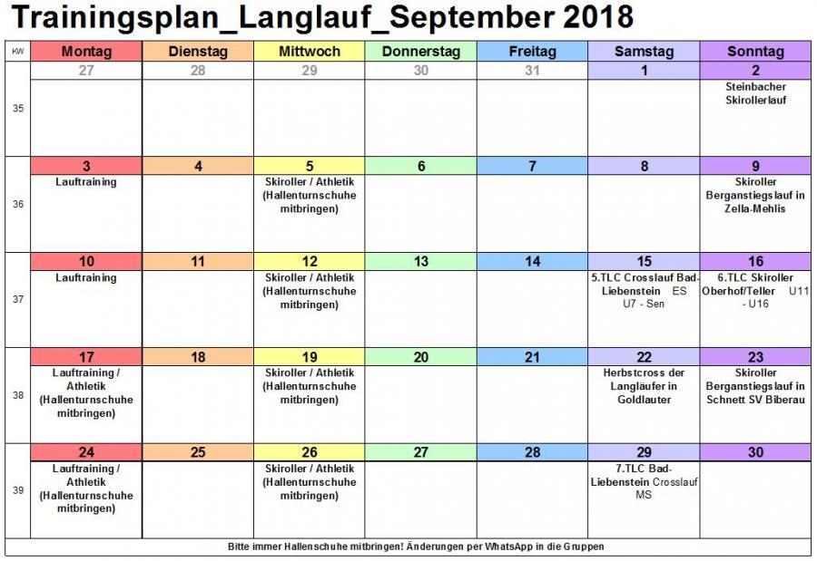 Trainingsplan_Langlauf_September 2018