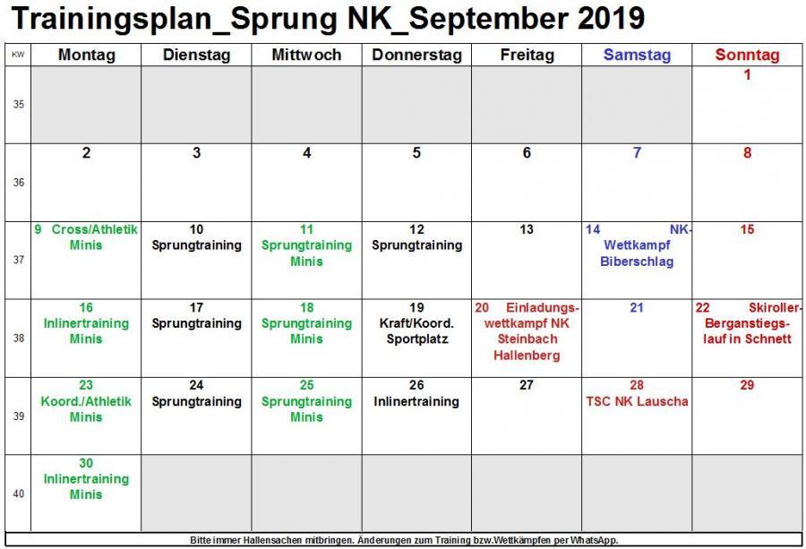 Trainingsplan_Sprung NK_Sept.2019