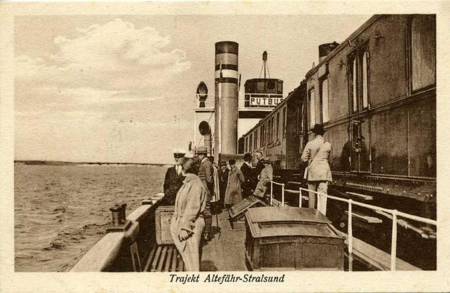 Trajekt Altefähr-Stralsund