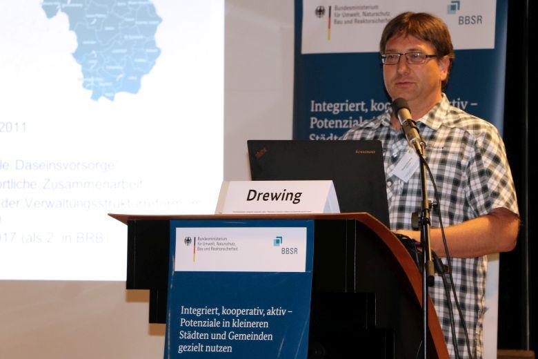 Vortrag zur Kooperation Oderlandregion