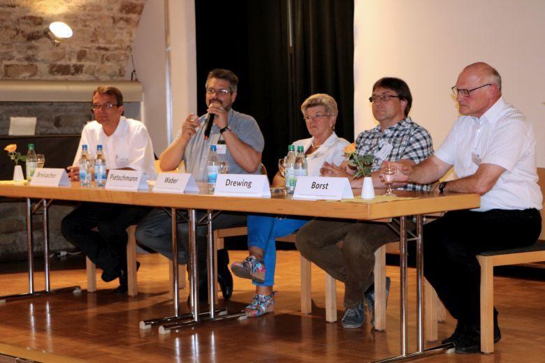 Podiumsdiskussion zu Kooperationen