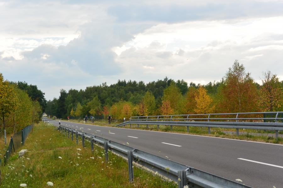 Trebendorf Radfahrer