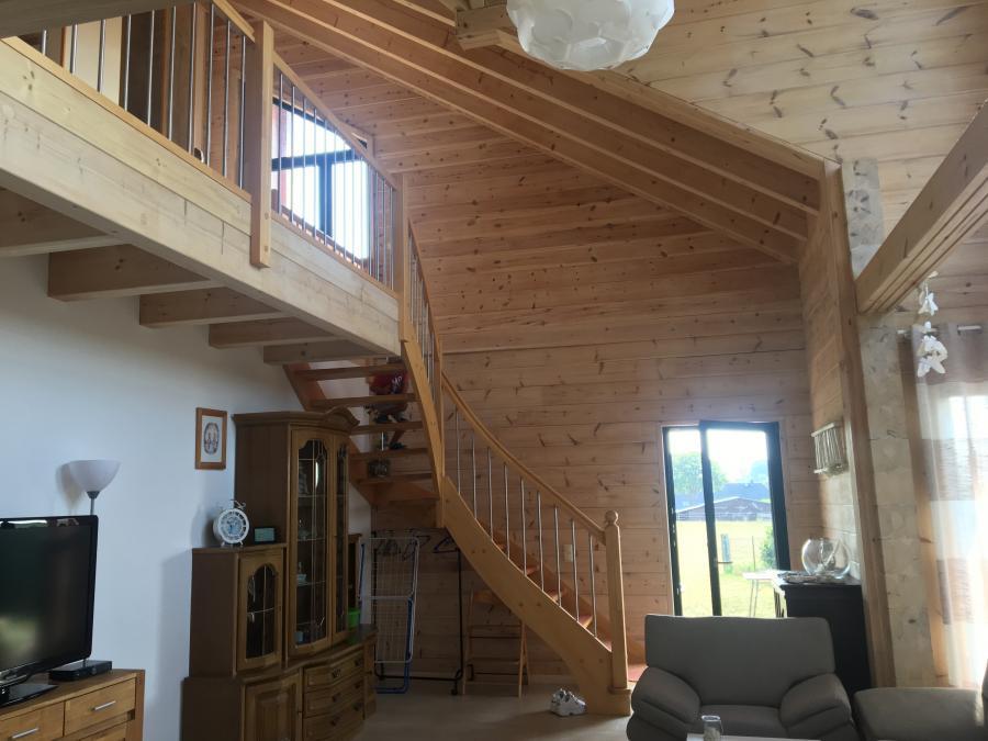 Treppe in den oberen Bereich
