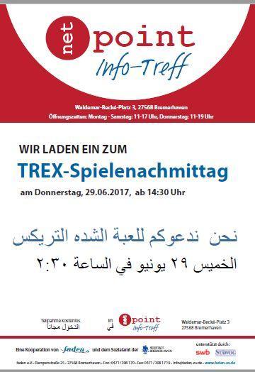 Trex-Spielenachmittag