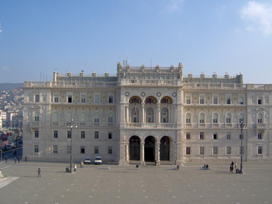 Fenster Trieste Italien