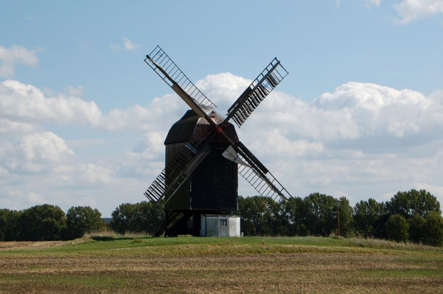Trogsche Bockwindmühle Ausleben