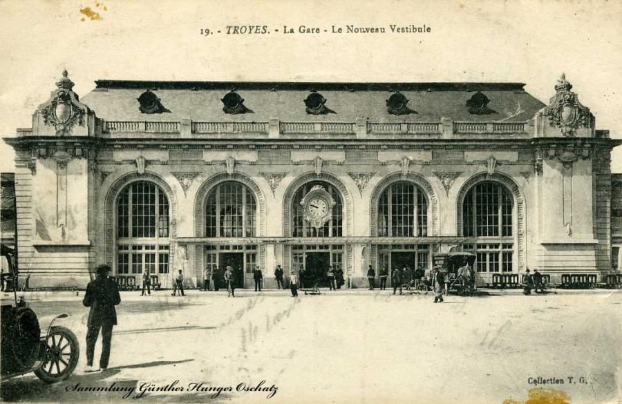 Troyes La Gare - Le Nouveau Vestibule