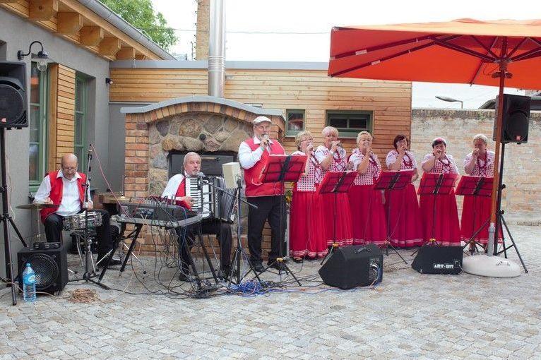 Auftritt des Chores Trzebiatow zum Stadtjubiläum