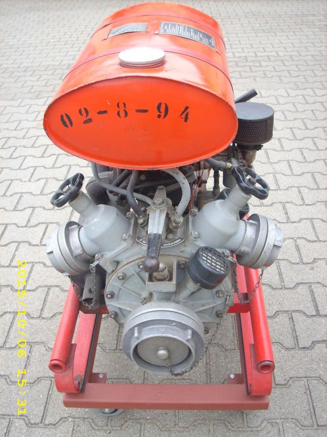 TS8-FLJ, Pumpenseite