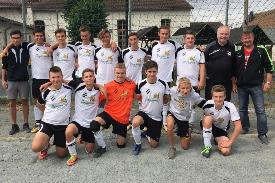 A-Junioren-Mannschaft 2018/19; Foto: Sebastian Herrmann