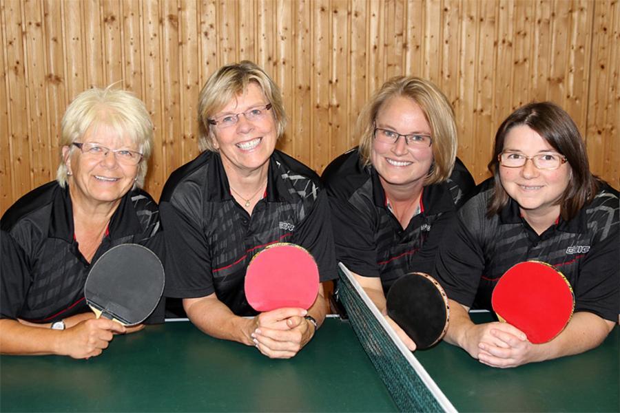 Mannschaftsfoto der 2. Damen