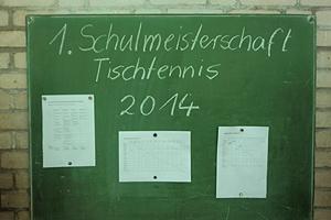 TT-Schulmeisterschaft 2014