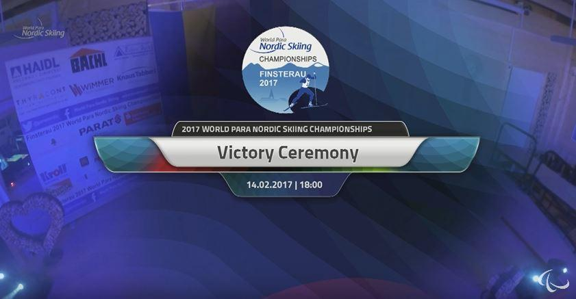 Tuesday 14.02.2017 Victory Ceremony
