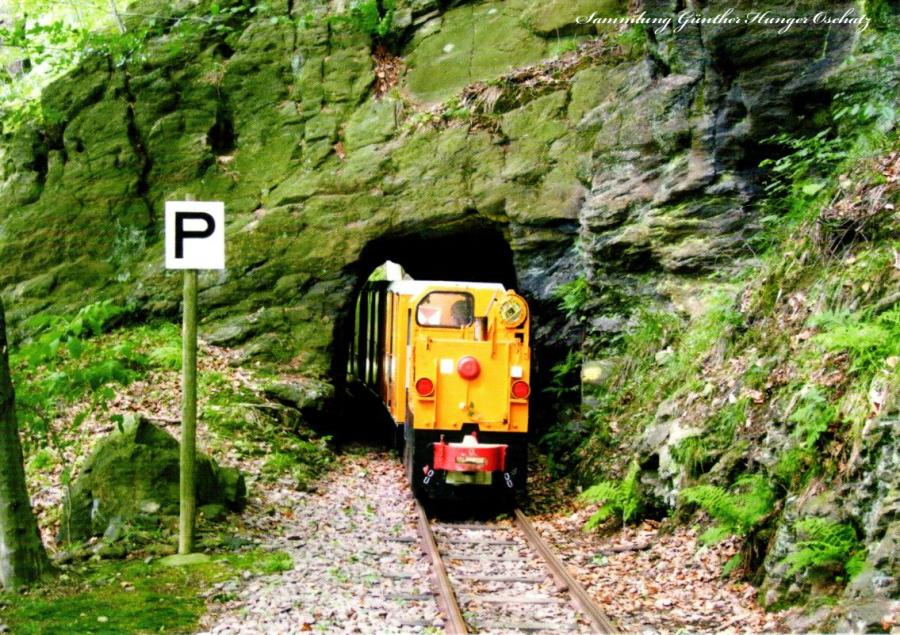 Tunnel der Erzbahn Schönborn-Dreiwerden