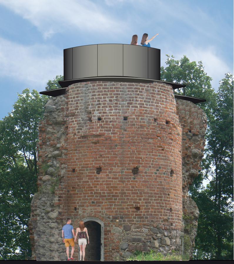 Turmansicht Burg Greiffenberg