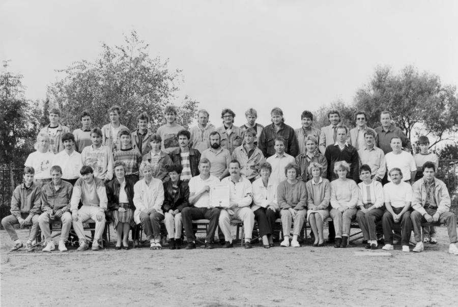 Gründung des Turn- undSportvereins Neukalen am 9. September 1990
