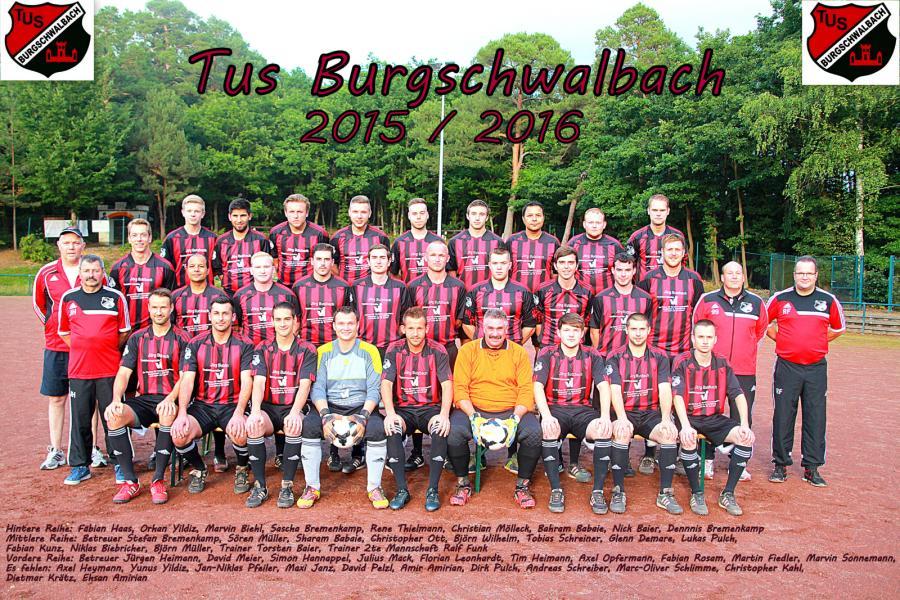 1. & 2. Mannschaft 2015/2016