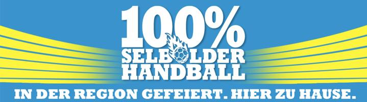 100% selbolder Handball