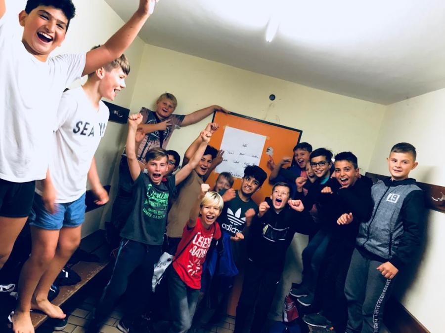 U13-D1-Jugend Sep. 2018_1.Sieg
