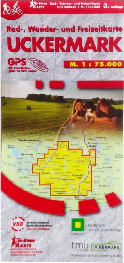 Uckermark-Karte