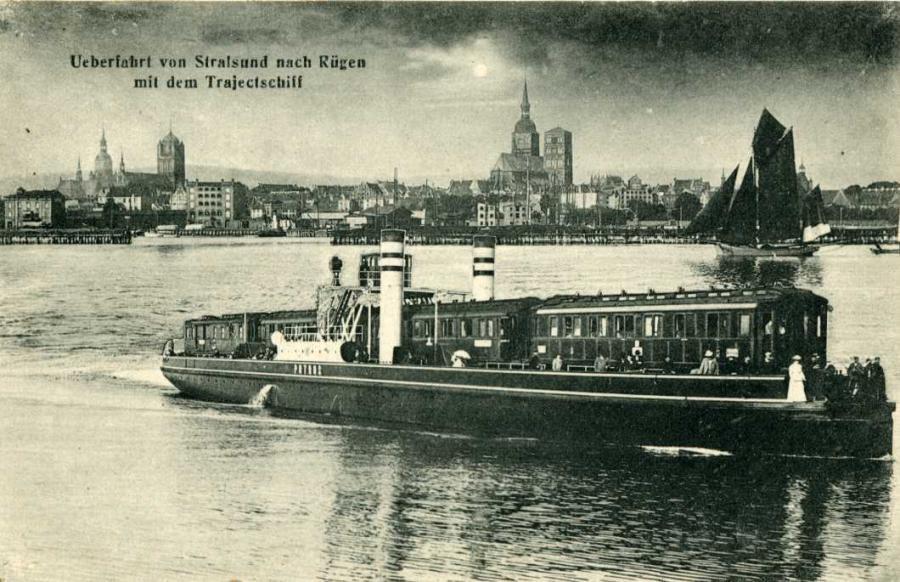 Ueberfahrt von Stralsund
