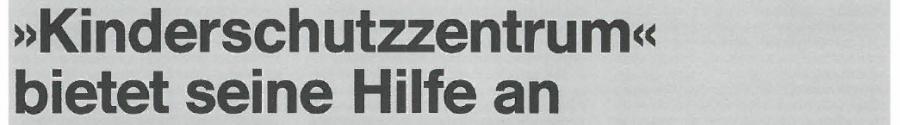 """Überschrift aus dem """"Westfalen-Blatt"""" vom 30.7.1979"""