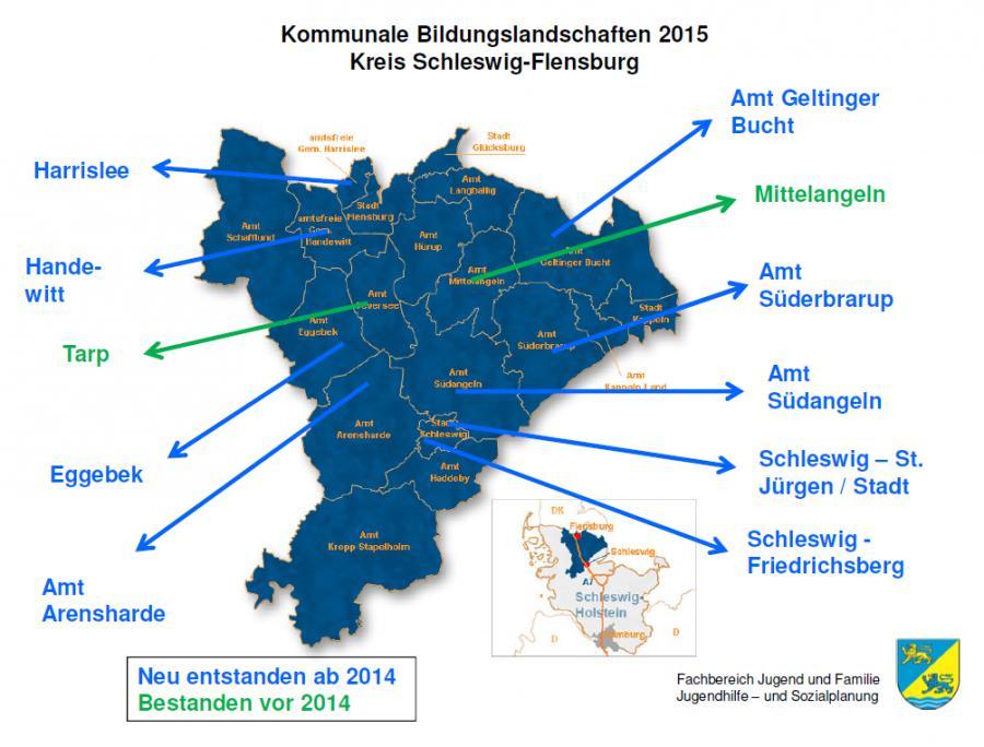 Bildungslandschaften im Kreis Schleswig-Flensburg