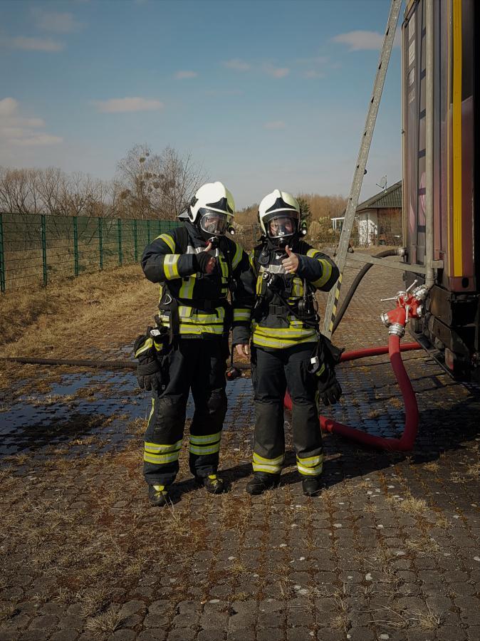 Brandübungsanlage