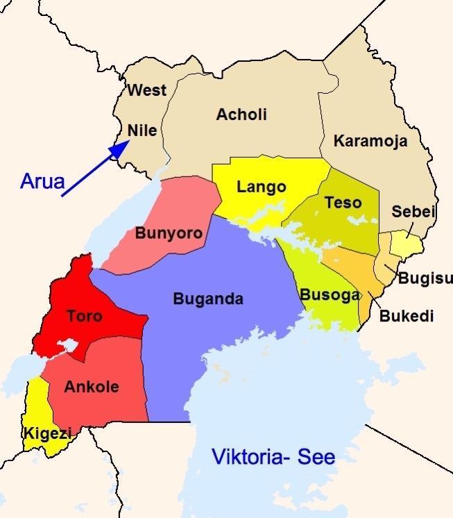 Uganda Sprachen