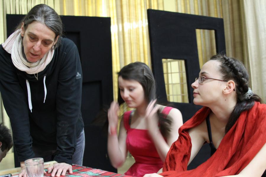 Ulrike Boie, Regie dt.-pl. Bettleroper 2013 © Burg Beeskow