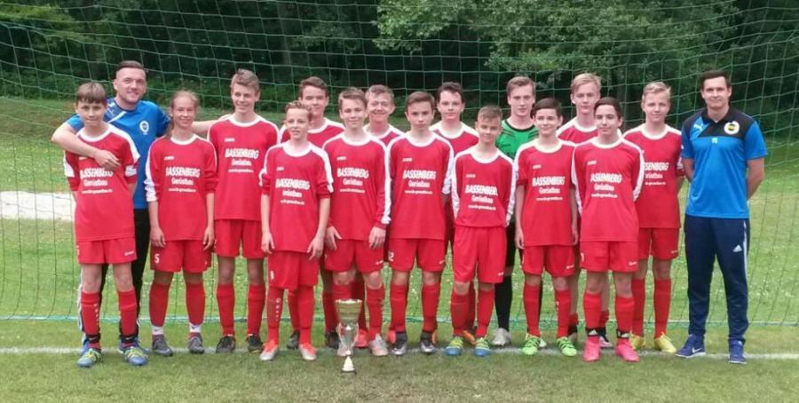 Kreispokalsieger derC-Junioren: SC UM Weißenfels