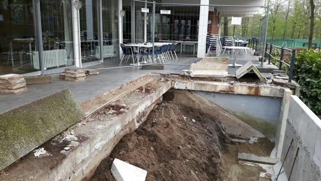 Umbau Terrasse 13.04.16